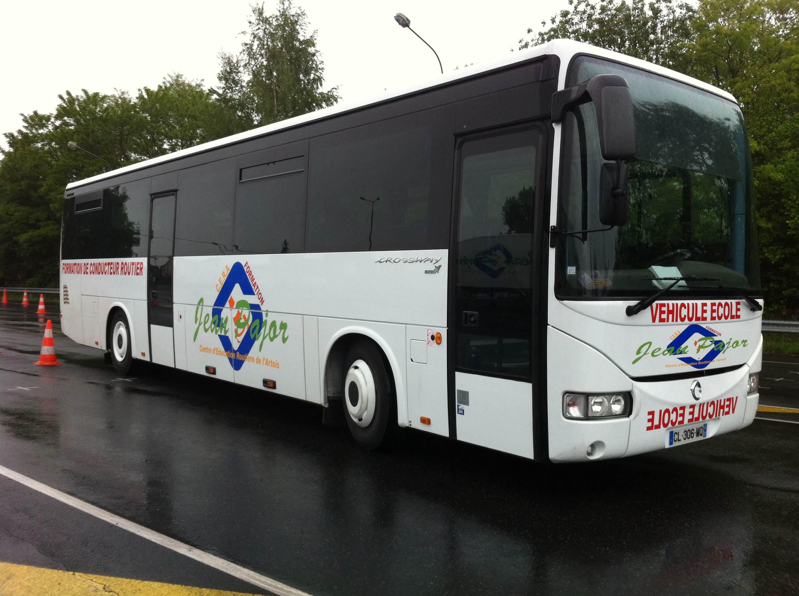 transport en commun permis bus jean pajor. Black Bedroom Furniture Sets. Home Design Ideas
